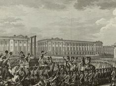 The execution of Louis XVI
