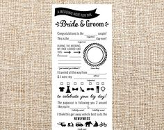 Image result for leave a note for the bride and groom