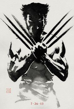 """Teaser poster de """"The Wolverine""""."""