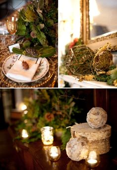 love this winter decor