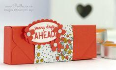 Stampin' Up! Demonstrator Pootles - Envelope Punch Board Ikea Tealight Box…