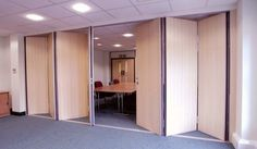 SM Folding Walls | Hinged Partitions | Products | Becker Sliding Partitions