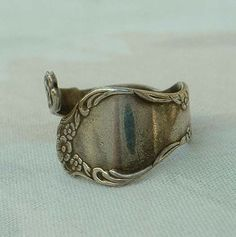 Sarah Coventry Rings | Sarah Coventry Silverplated Spoon Ring Adjustable 1970s Vintage ...