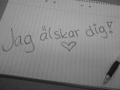 #ILoveYou in Swedish