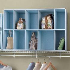 storing purses