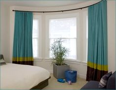 Curved Curtain Rod For Bay Window | Home Design Ideas | Master ...