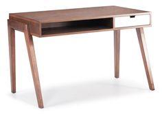 Linear Desk Walnut