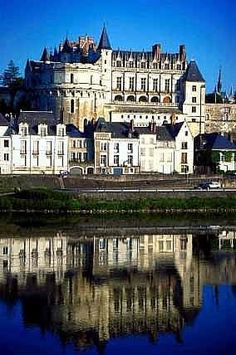 The Chateaux de Amboise in France.