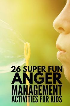 Anger Management for Kids | Learn how to teach children self-control with these anger management tips for kids. From coping skills and behavior charts to fun kids games and effective stress relief tips and toys, teaching children to control big emotions isn't as hard as you might think. We've even rounded up 26 super fun anger management activities for kids that feel more like play than work! #anger #angermanagement #parenting #parentingtips #parenting101