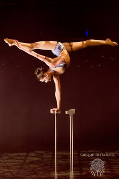 I love Olga Pikhienko! My biggest inspiration for doing contortion and hand balancing!