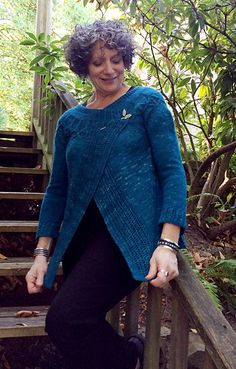 Ravelry: Flutter Front Cardigan pattern by Sivia Harding