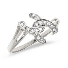 10K White Gold Diamond Horseshoe Ring Size 85 * You can find out more details at the link of the image.Note:It is affiliate link to Amazon.