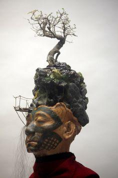 Temsuyanger Longkumar, 'Tattooed Memory', 2012, detail. © Temsuyanger Longkumar. Image courtesy the artist and Nelson Ferreira.