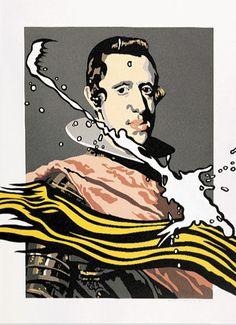 La pincelada. Equipo Cronica - Isn't this Carlos II?  I'm a dork.