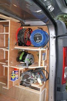 37 best van shelving ideas images in 2015 tool storage tools van rh pinterest com