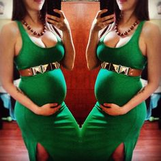 If I ever got pregnat again...this would totally be my babyshower look:)