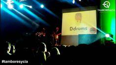 Actuación de Ddrums Percussion Project en la Fiesta MQR, en la sala de fiestas La Cábila, en #Villena (Alicante). #percusion #ddrums #tamboresycia www.tamboresycia.com