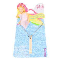 Believe In You Jojo Siwa Pendant Necklace Bows Juice