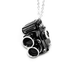 Fab.com   Vintage Camera Necklace