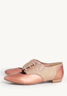Maxine Cutout Oxfords at #Ruche @mimi ヾ(^∇^)