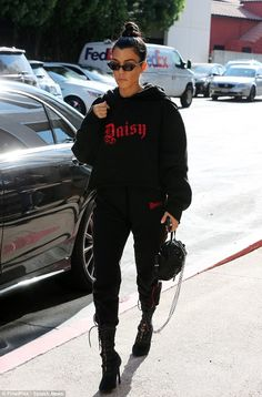 Steal your style from the streets with Kourtney's Opening Ceremony hoodie #DailyMail  Click 'Visit' to buy  now