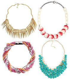 Collares de moda 2012 de H