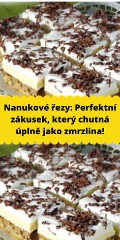 No Bake Cake, Nutella, Baking Recipes, Deserts, Food And Drink, Pudding, Cookies, Sweet, Fondant