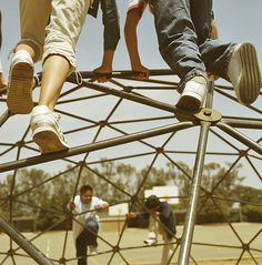 The Danger of Keeping Kids TOO Safe, byt @NotJustCute. More evidence for why kids need unstructured, social play (and better, scarier, playgrounds).