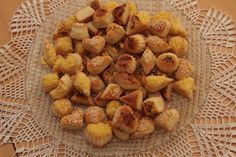 Pagáčiky s kyslou smotanou Dog Food Recipes, Cereal, Almond, Brunch, Potatoes, Snacks, Vegetables, Breakfast, Ethnic Recipes