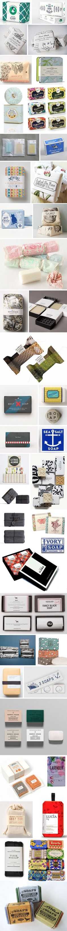 Lovely Soaps! Förpackad -Blogg om Förpackningsdesign, Förpackningar, Grafisk Design - CAP&Design (Butter Packaging Ideas)