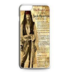 Captain Jack Sparrow iPhone 6 Plus Case