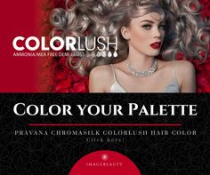 Bright colors are in this summer! Try our NEW ChromaSilk ColorLush line with different hair hues spanning the rainbow. Color your palette today!