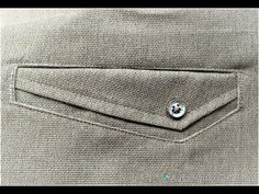I will show how welt pocket make in any shape u want. I will make many difference shapes welt pocket but i will show one of them. Thank you for watching Plea. Sewing Men, Sewing Pants, Techniques Couture, Sewing Techniques, Fashion Casual, Mens Fashion, Sewing Pockets, Formal Pants, Cotton Pants