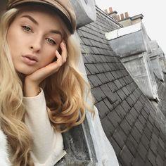 Parisian rooftops#Paris #france #rooftop #parisian #parisienne #blogger #fashionblogger #style #fashion #bakerboyhat