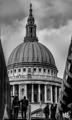To the Cathedral by Dipesh Mehrotra on Paul The Apostle, Anglican Cathedral, London Travel, London City, Taj Mahal, Building, Buildings, Construction