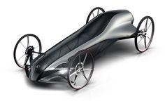 Silbervogel Gravity Racing Car by Jakob Hirzel