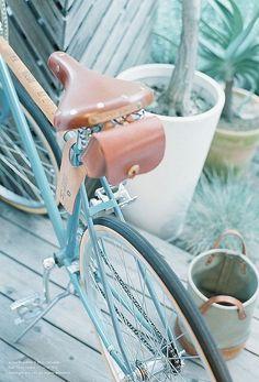 Blue #bicycle