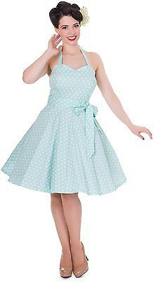 UK UK XL, Blau (aqua A), Dolly and Dotty Women's Penny Casual Clothes NEW
