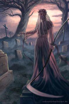 Death Spirit, Sebastian Becker on ArtStation at https://www.artstation.com/artwork/zKRZ4