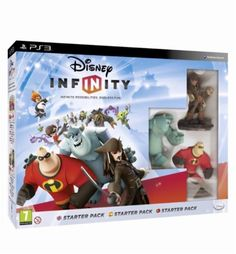 Disney Infinity Starter Pack. Juego play 3 - 159793195 - Consolas y Videojuegos