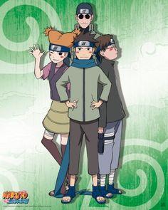 Team Ebisu     Poster Naruto Shippuden