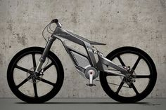 Audi e-bike Wörthersee  The uncompromising dynamism of the bike prototype is fully visible at first sight.