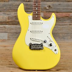 G&L SC-3 Yellow 1987 (s104)