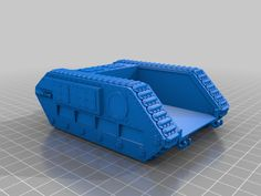 28mm+Zerber+tank+chassis+by+Forpost_D6.