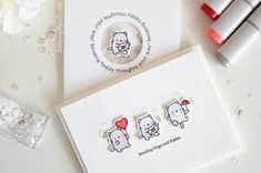 Little Crafty Pill: Clean and Simple MINI CARDS