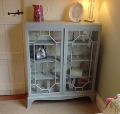 Display Cabinet by ChicShabbyFurniture on Etsy, £295.00