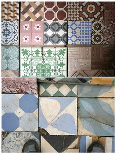 Portuguese tiles, a collection. Really nice.