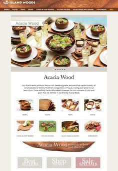 Kitchen Helper, Wood Bowls, Acacia Wood, 40 Years, Woods, Catalog, Sweet Home, Ship, Island