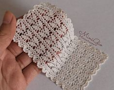 Dollhouse miniature baby crochet blanket with pink flowers, model 101 singlecrochet Dollhouse crochet silk blanket in white, Crochet Motifs, Crochet Squares, Crochet Shawl, Crochet Doilies, Crochet Lace, Crochet Patterns, Diy Crafts Knitting, Diy Crafts Crochet, Crochet Round