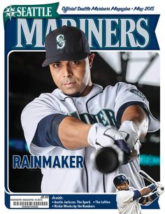 Nelson Cruz, #Mariners Magazine (May 2015)
